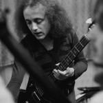 Józef Skrzek przed koncertem, rok 1975 (fot. Tomasz Sikora)
