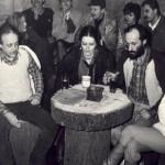 Klub Leśniczówka, lata 80. (fot. z archiwum Michała Greupnera)