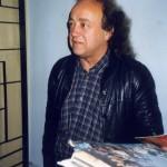 Józef Skrzek w Planetarium Śląskim, rok 1999 (fot. z archiwum Michała Greupnera)