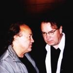 Józef Skrzek i Lech Majewski, rok 2001 (fot. Andrzej Hojn)