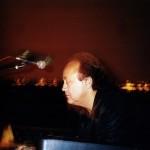Józef Skrzek w Planetarium Śląskim, rok 2002 (fot. Andrzej Hojn)