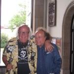 Józef Skrzek i Thijs van Leer (Focus), rok 2007 (fot. Andrzej Szczerba)